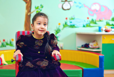 child wearing a princess costume